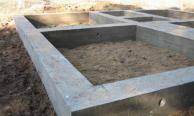 Фундаменты ленточные, плитные, свайные, ростверк